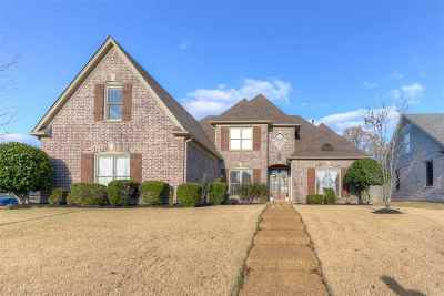 Collierville Single Family Home For Sale: 4830 Fox Springs