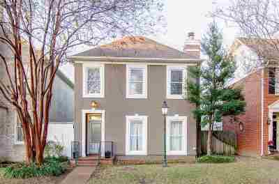 Memphis Single Family Home For Sale: 108 Island Crest