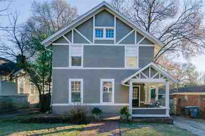 Memphis Single Family Home For Sale: 1617 Forrest