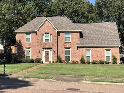 Collierville Single Family Home For Sale: 350 E Nolley