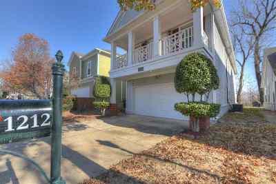 Memphis Single Family Home For Sale: 1212 Harbor River