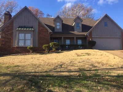 Memphis Single Family Home For Sale: 2297 Hickory Path