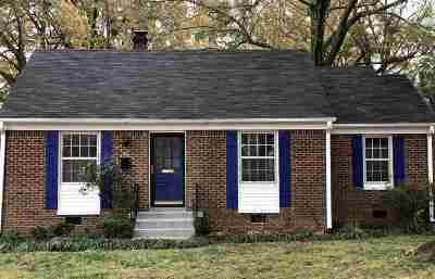 Memphis Single Family Home For Sale: 174 Dille
