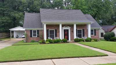 Bartlett Single Family Home For Sale: 6141 Shade Tree