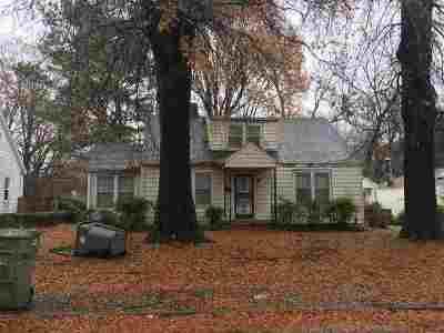 Memphis Single Family Home For Sale: 632 S Graham