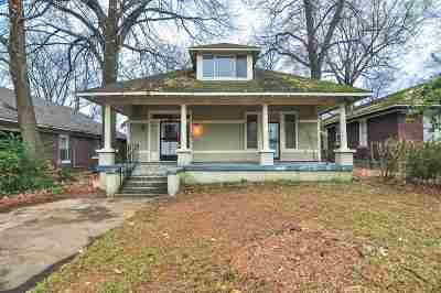 Single Family Home Contingent: 1223 Tutwiler