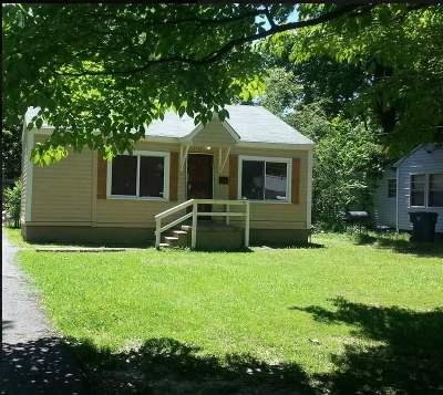 Memphis TN Single Family Home For Sale: $67,000