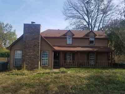 Memphis Single Family Home For Sale: 3468 Brownbark