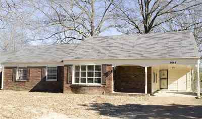 Memphis TN Single Family Home For Sale: $76,000
