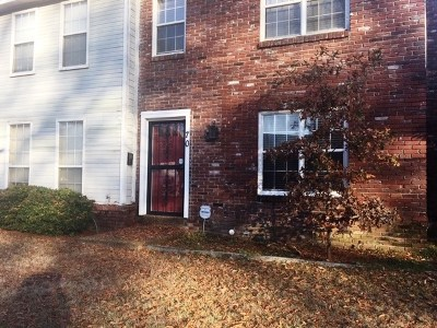 Memphis TN Condo/Townhouse For Sale: $159,000