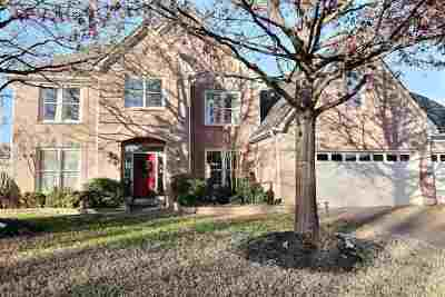 Collierville Single Family Home Contingent: 480 Hunters Mill