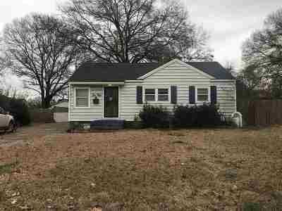 Memphis Single Family Home For Sale: 1050 Maybelle