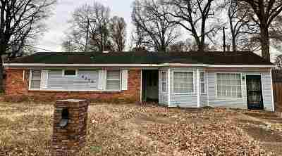 Memphis Single Family Home For Sale: 4299 Mallory