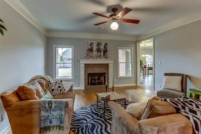 Collierville Single Family Home Contingent: 1126 Sunriver