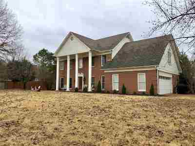 Collierville Single Family Home Contingent: 766 Rolling Oaks