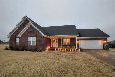 Atoka Single Family Home Contingent: 293 Rembert