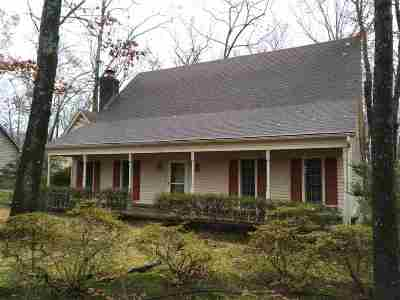 Collierville Single Family Home Contingent: 823 Pearson Oaks