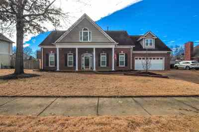 Collierville Single Family Home For Sale: 515 Whitney