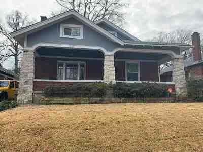 Central Gardens Single Family Home For Sale: 1563 Vance