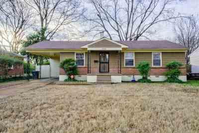 Memphis Single Family Home For Sale: 1749 Cornelia