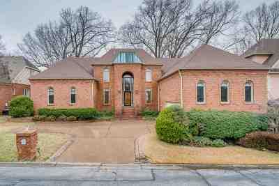 Memphis Single Family Home For Sale: 2499 Eagleridge