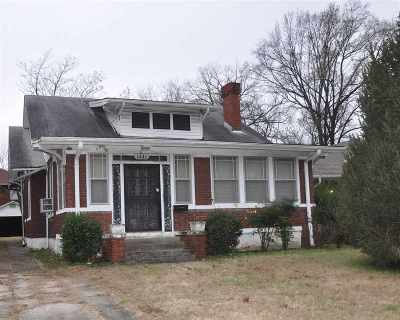Single Family Home For Sale: 1451 N Parkway