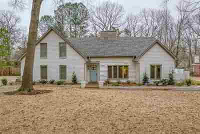 Memphis Single Family Home Contingent: 2328 Hickory Forest