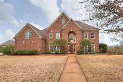 Collierville Single Family Home For Sale: 2480 Halle