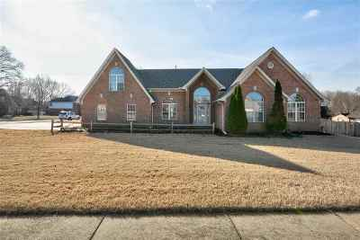 Bartlett Single Family Home For Sale: 6675 Hare Run