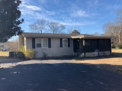 Savannah TN Single Family Home For Sale: $57,500