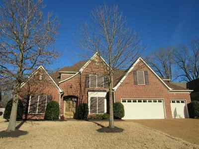 Collierville Single Family Home For Sale: 4846 Fox Springs