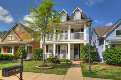 Single Family Home For Sale: 1367 Island Place