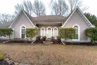 Memphis Single Family Home For Sale: 8774 Wood Mills