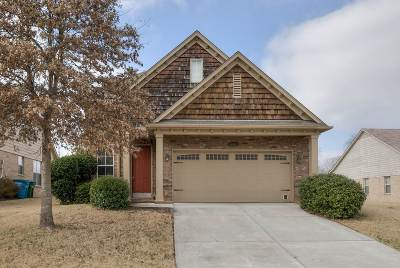 Arlington Single Family Home Contingent: 4951 Bending Creek