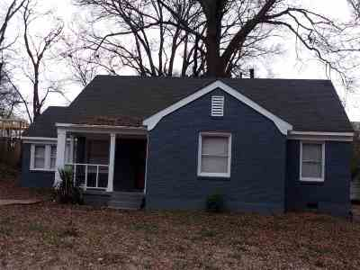 Memphis Single Family Home For Sale: 1011 Cindy