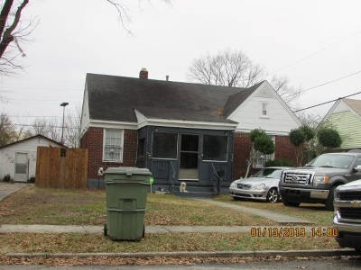 Memphis Single Family Home For Sale: 3118 Crump