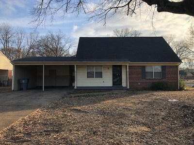 Memphis Single Family Home For Sale: 5159 Cottonwood