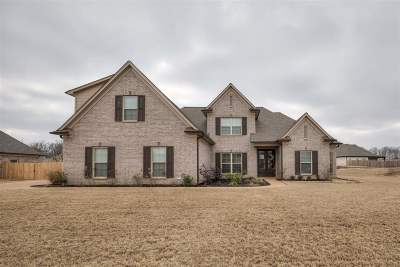 Atoka Single Family Home Contingent: 85 E Cherrybark