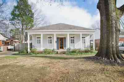 Memphis Single Family Home For Sale: 52 S Reese