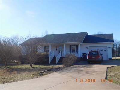 Savannah TN Single Family Home For Sale: $129,500