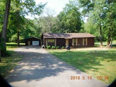 Savannah TN Single Family Home For Sale: $77,500