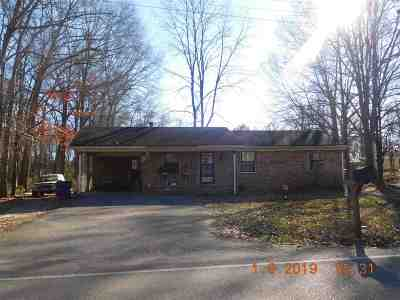 Savannah TN Single Family Home For Sale: $53,500