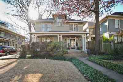 Memphis Single Family Home For Sale: 1373 Vinton