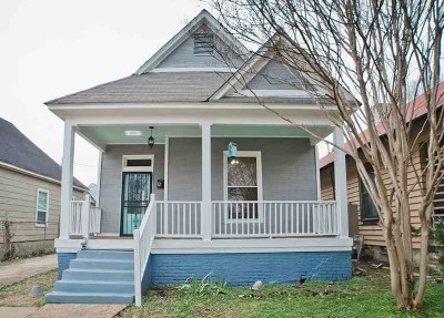 Cooper Young Single Family Home For Sale: 1071 Meda