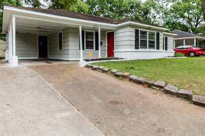 Memphis TN Single Family Home For Sale: $105,000