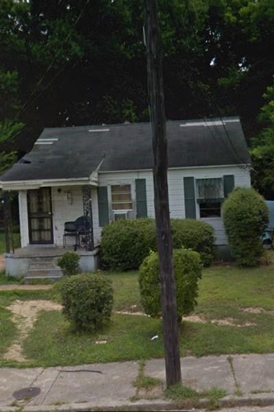 Memphis TN Single Family Home For Sale: $30,000