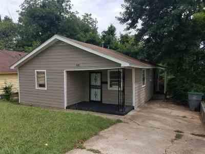 Memphis Single Family Home For Sale: 1624 Carpenter