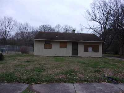 Memphis Single Family Home For Sale: 1222 Canfield