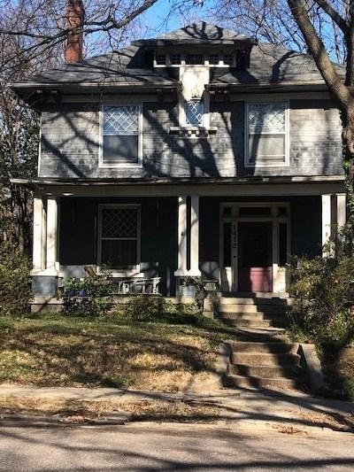 Memphis Single Family Home For Sale: 1412 Vinton