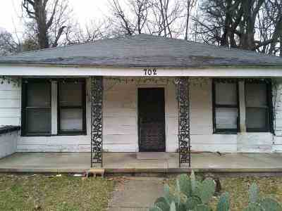 Memphis TN Single Family Home For Sale: $17,000